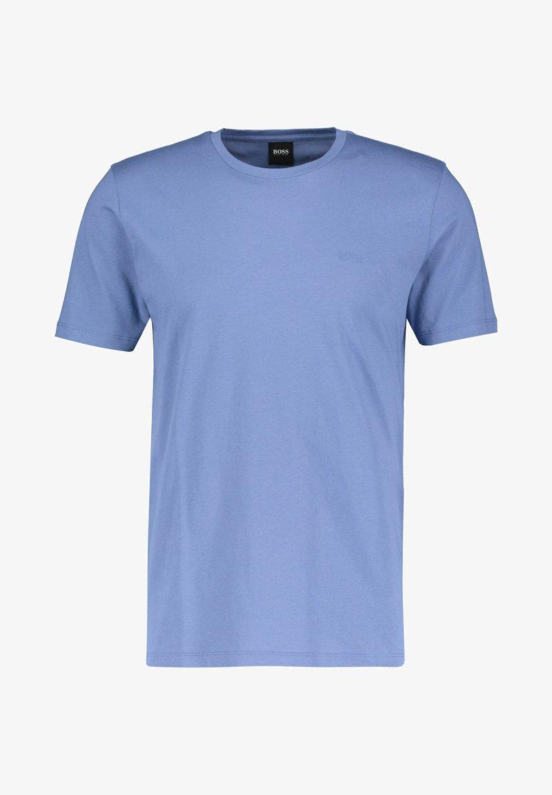 BOSS - LECCO  - Basic T-shirt - stoned blue