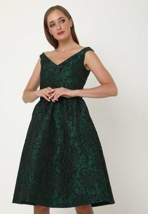 ALLTAGS DANAY - Cocktail dress / Party dress - schwarz, grün