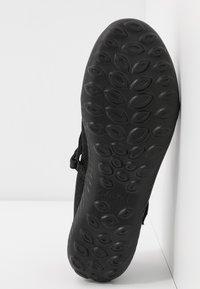 Skechers - BE-LIGHT - Ankle strap ballet pumps - black - 6