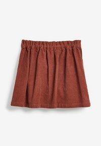 Next - A-line skirt - brown - 2