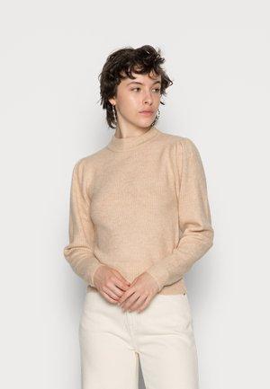 PCCANA HIGH NECK - Sweter - dawn