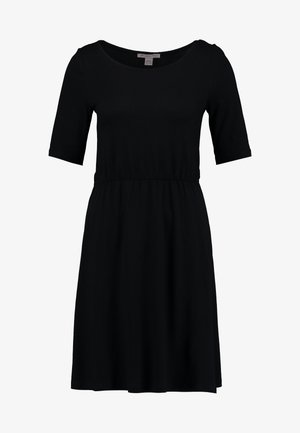 BASIC  - Jersey dress - black