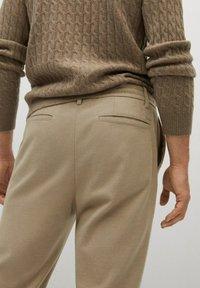 Mango - SIRHAN - Pantalones - beige - 4