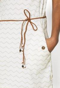 Ragwear - TAG CHEVRON - Žerzejové šaty - off white - 5
