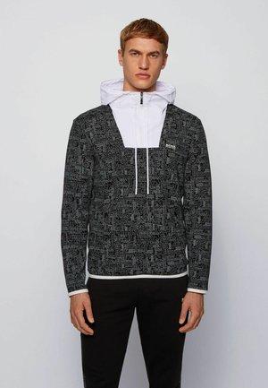 SURLEY - veste en sweat zippée - black