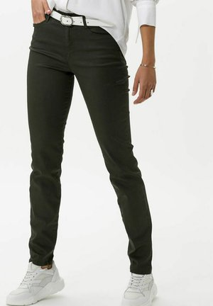 STYLE SHAKIRA - Jeans Skinny Fit - clean dark olive
