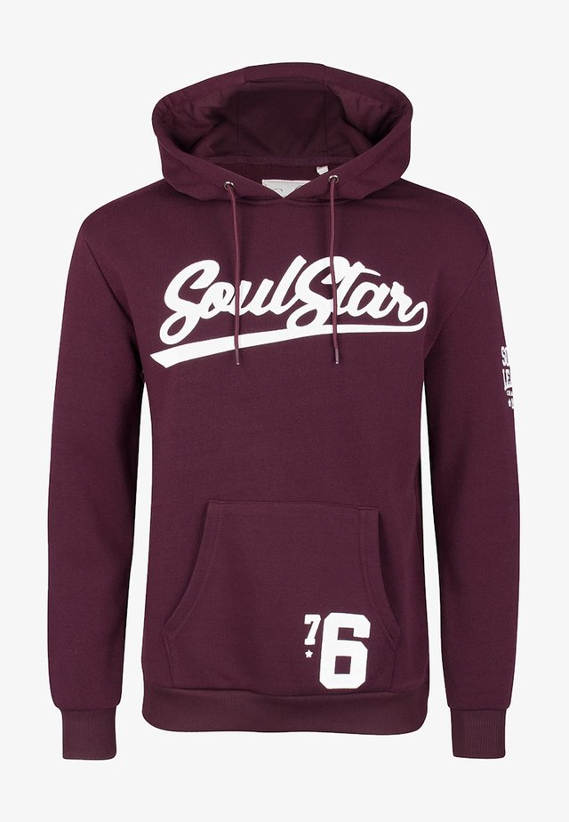 Sweatshirt - burgunder