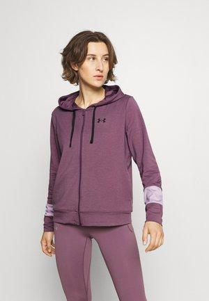 RIVAL TERRY HOODIE - Sweatjakke - purple