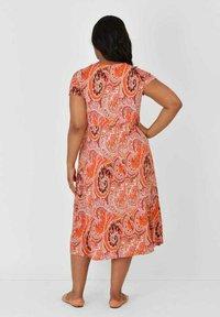 Live Unlimited London - Jersey dress - orange - 1