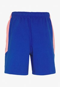 The North Face - EXTREME BLOCK SHORT - Tracksuit bottoms - blue/miami pink - 1
