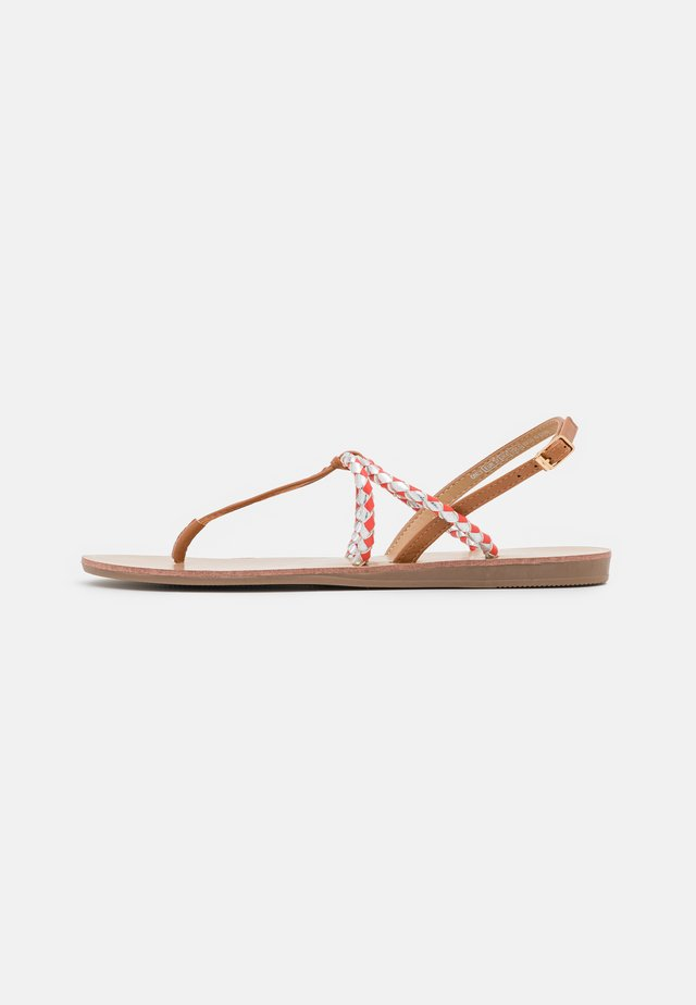 ONLMAYA BRAID  - Teensandalen - coral