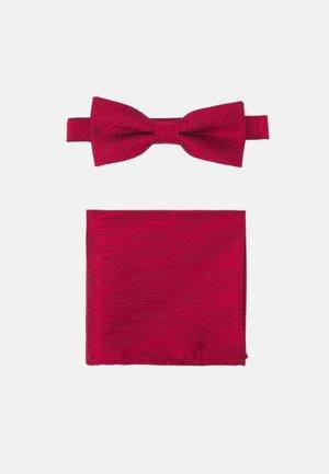 ONSTANNER BOW TIE BOX SET - Pocket square - merlot