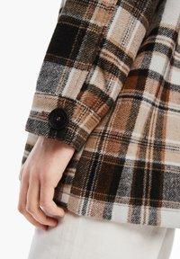 s.Oliver - Light jacket - brown check - 3