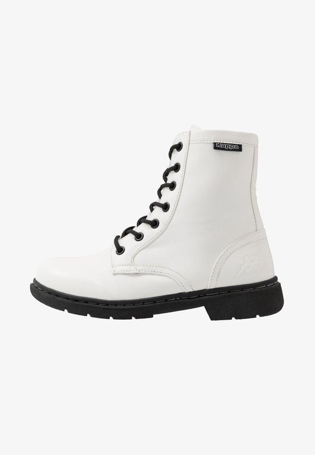 DEENISH - Hikingschuh - white/black