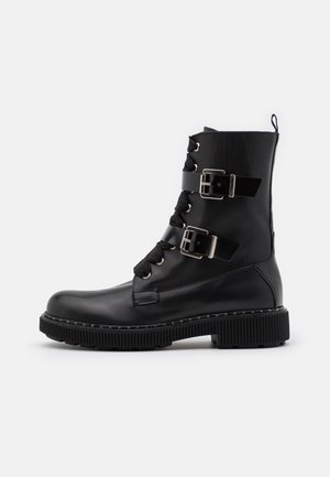 MARINAIO - Lace-up ankle boots - black