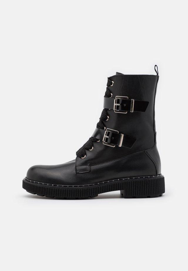 MARINAIO - Veterboots - black