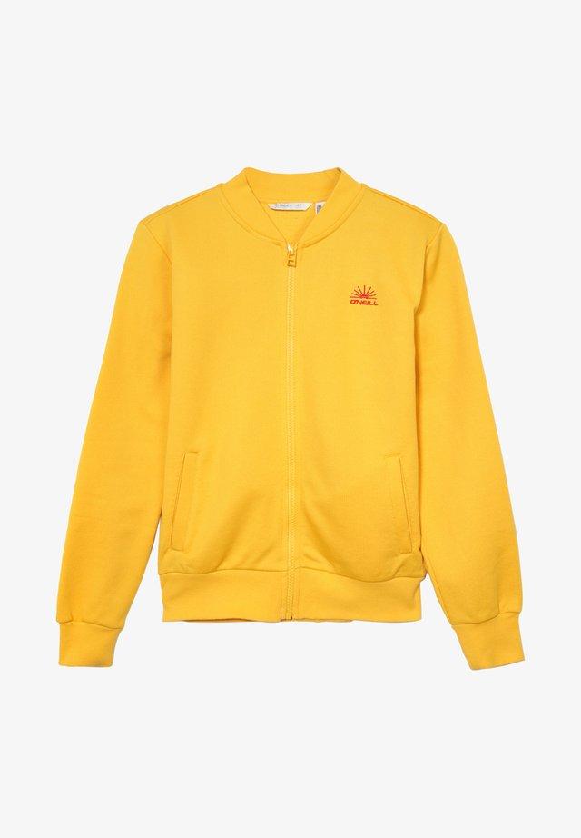 Cardigan - golden yellow