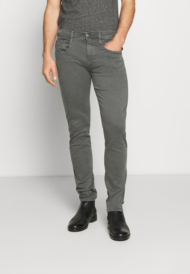 ANBASS - Vaqueros slim fit - grey mouse