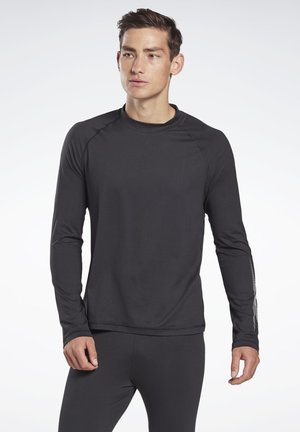 THERMOWARM TOUCH GRAPHIC BASE LAYER LONG-SLEEVE TOP - Langarmshirt - black