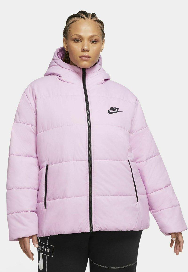Nike Sportswear - Winter jacket - beyond pink/white/black
