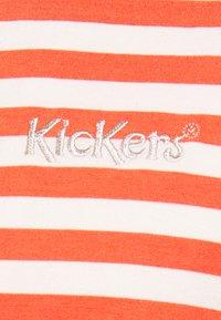 Kickers Classics - HORIZONAL STRIPE TEE - T-shirt z nadrukiem - orange - 2