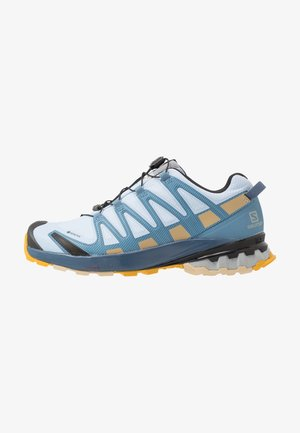 XA PRO 3D V8 GTX - Chaussures de running - kentucky blue/dark denim/pale khaki