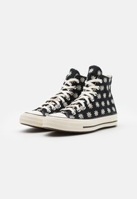 Converse - CHUCK TAYLOR ALL STAR 70 UNISEX - High-top trainers - black/egret - 1