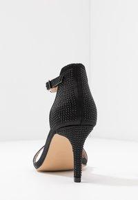 Dorothy Perkins - BESSIE HEATSEAL 2 PART  - Sandals - black - 5