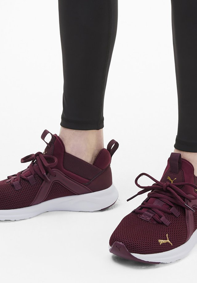 ENZO  - Neutral running shoes - burgundy-gold