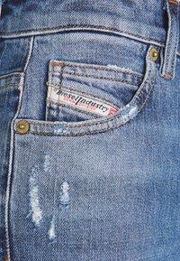 Diesel - D-EISELLE - Slim fit jeans - indigo - 6