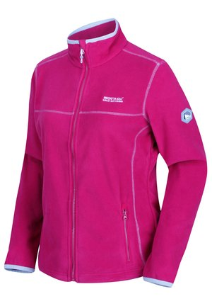 Fleece jacket - dark cerise