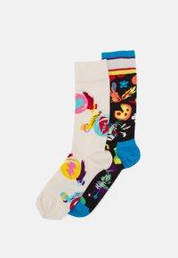 Happy Socks - CIRCUS SOCKS GIFT UNISEX 2 PACK - Ponožky - multi - 0