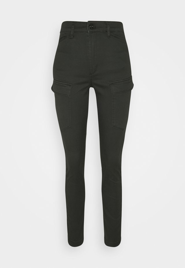 Cargo trousers - raven