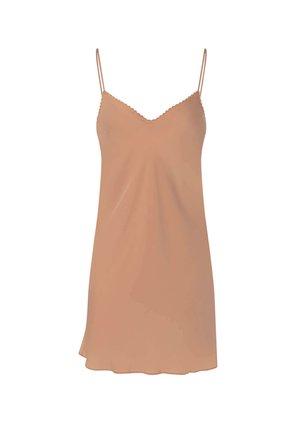 SHORT SATIN  - Camicia da notte - beige