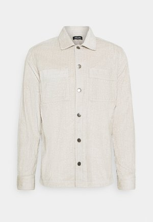 TEXTURED JACKET UNISEX - Light jacket - moonbeam