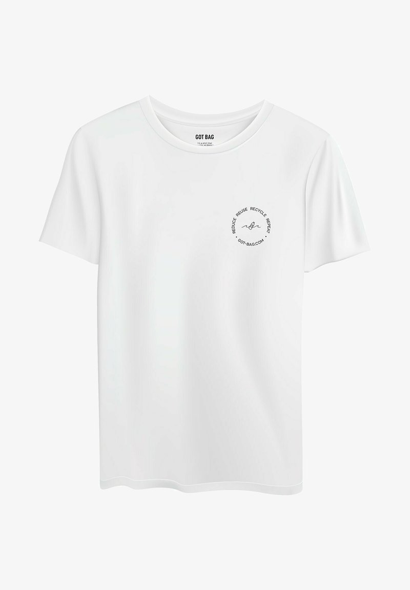 Got Bag - Print T-shirt - white