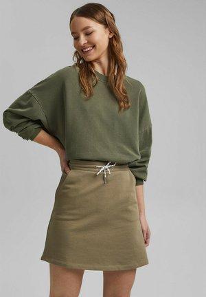 Spódnica mini - light khaki