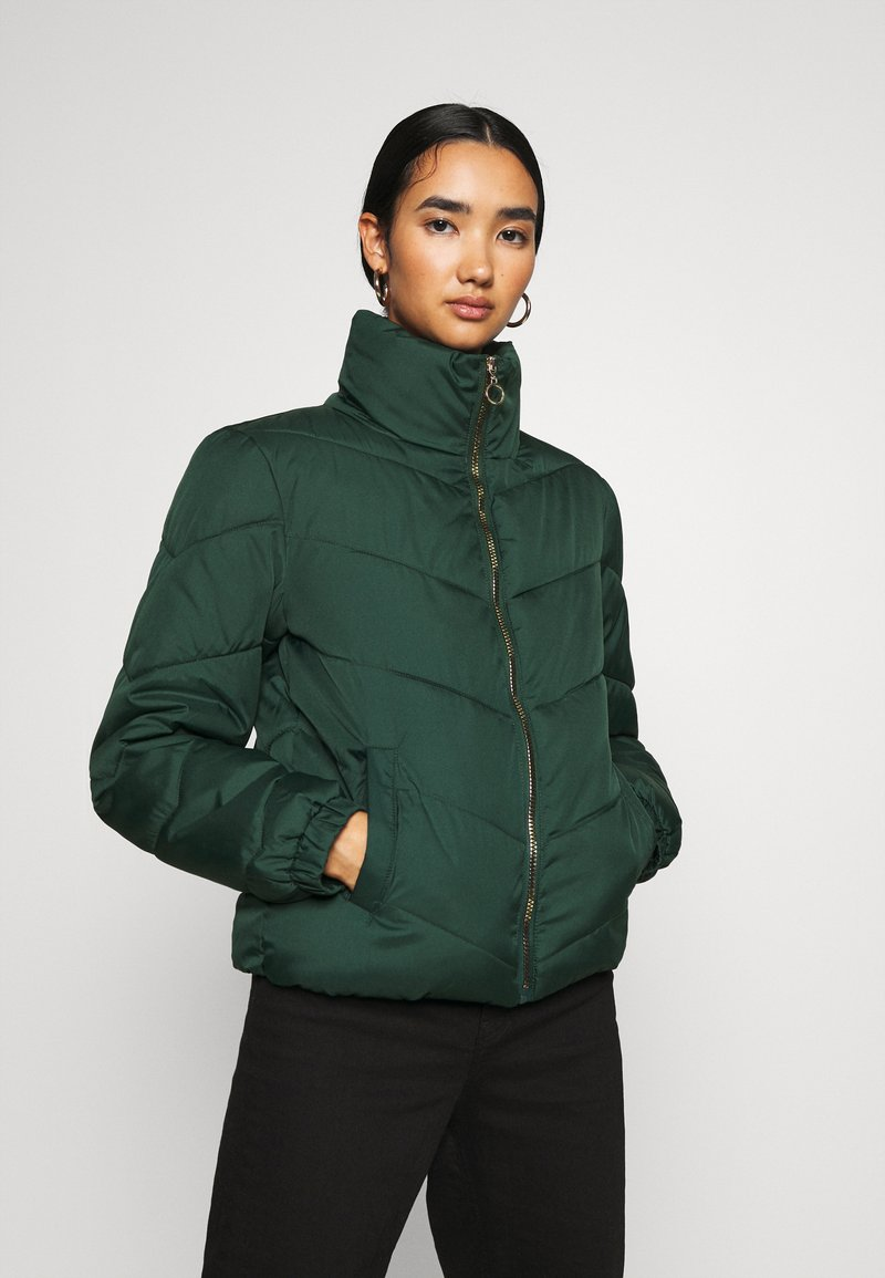 JDY - JDYFINNO PADDED JACKET - Winter jacket - ponderosa pine