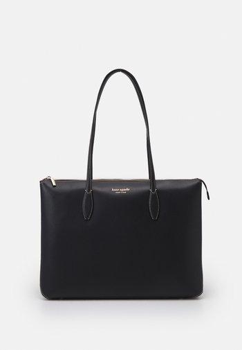 ZIP TOTE - Tote bag - black