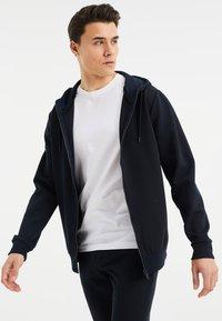 WE Fashion - Zip-up hoodie - dark blue - 3