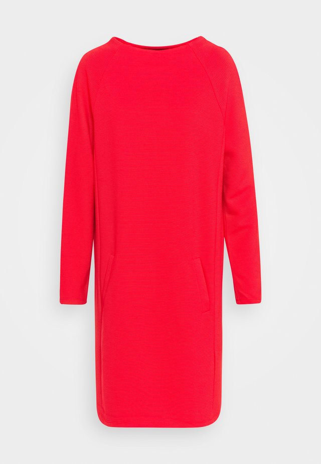DRESS COSY - Day dress - strong red