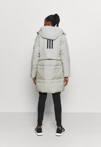 adidas Performance - MYSHELTER URBAN COLD - Doudoune - metgry/white - 2