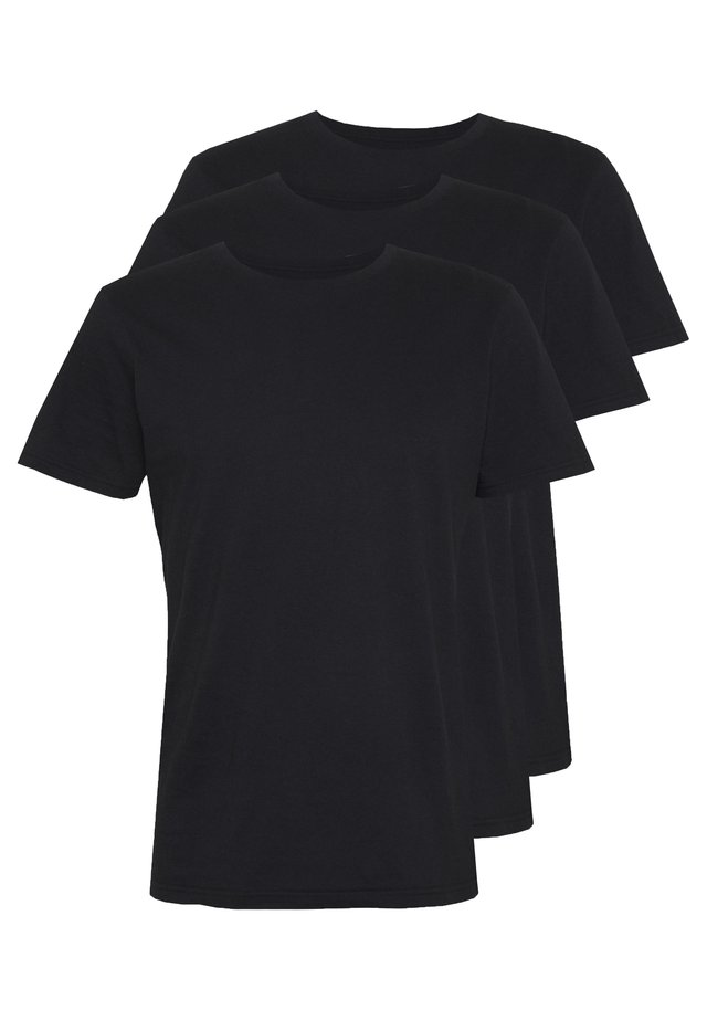ESSENTIAL TEE 3 PACK - T-shirt basique - black