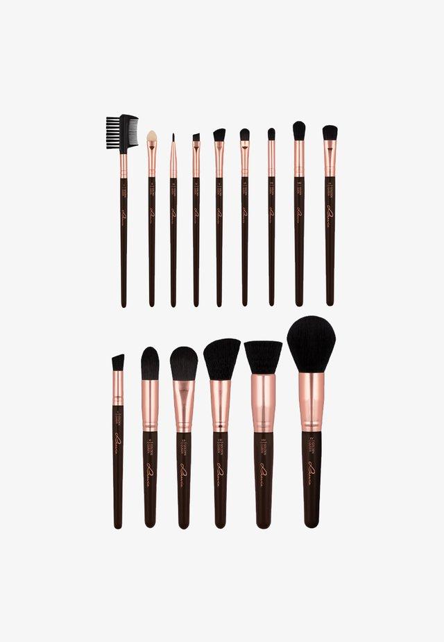 BRUSH SET - Makeupbørstesæt - golden queen