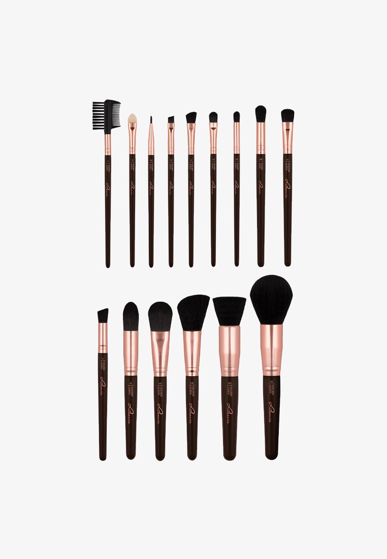 Luvia Cosmetics - BRUSH SET - Kit pennelli - golden queen
