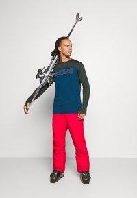 Mons Royale - YOTEI TECH  - Sports shirt - atlantic/rosin - 1