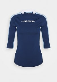 J.LINDEBERG - MARGOT SOFT COMPRESSION - Print T-shirt - midnight blue - 0