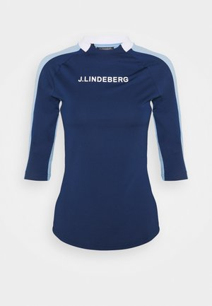MARGOT SOFT COMPRESSION - Camiseta estampada - midnight blue