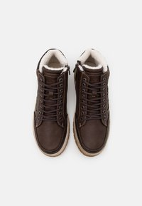 TOM TAILOR - High-top trainers - brown - 3