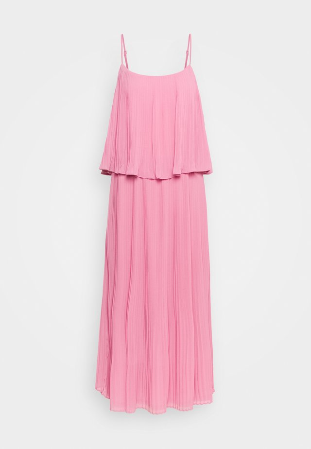 VIKATELYN PLEATED MIDI DRESS - Vestito lungo - wild rose